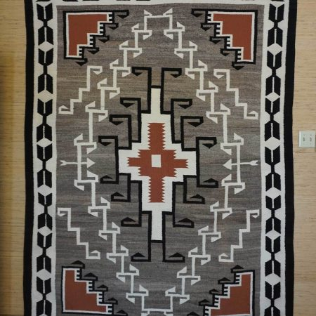 Navajo Rugs for Sale Company Large Teec Nos Pos Navajo Rug Weaving for Sale Circa 1960 NRFSC0195 Image 001