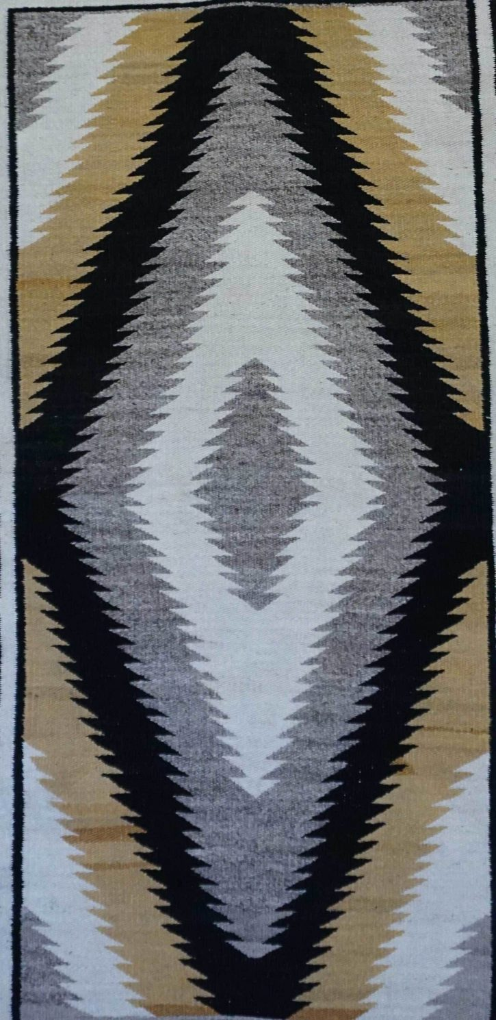 Navajo Rugs for Sale Company Historic Crystal Antique Navajo Rug for Sale Circa 1930 NRFSC0117 Image 002