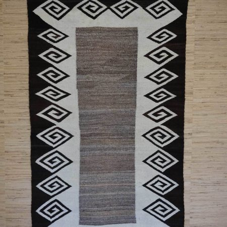 Navajo Rugs for Sale Company Double Saddle Blanket Navajo Rug Weaving Circa 1920 for Sale NRFSC0471 Image 001