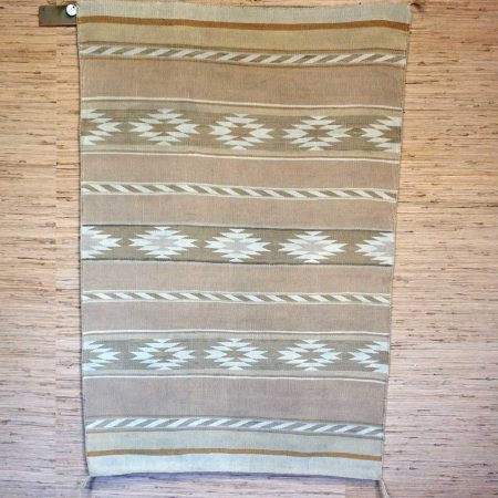 Navajo Rugs for Sale Company Antique Banded Chinle Revival Navajo Blanket with Bands of Chevrons and Chinle Stars Navajo Rug Weaving Circa 1930 for Sale NRFSC0720 Image 001