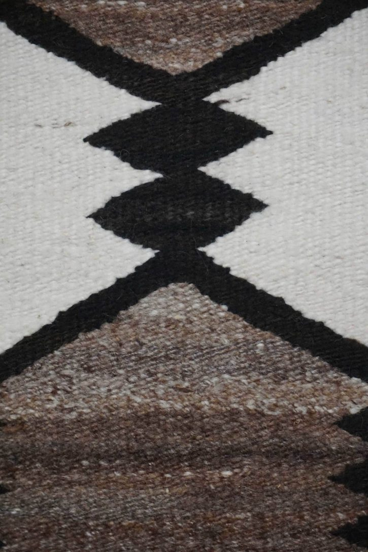 Navajo Rugs for Sale Company Antique JB Moore Crystal Trading Post Navajo Rug Weaving Circa 1930 for Sale NRFSC0858 Image 003