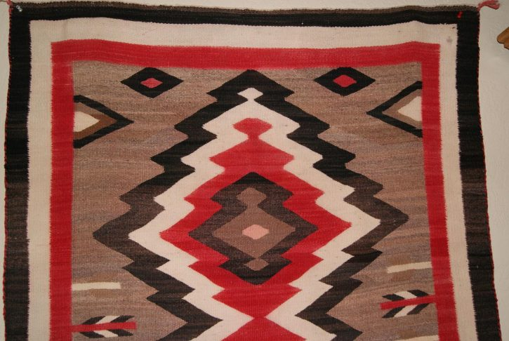 Navajo Rugs for Sale Company Antique JB Moore Crystal Variant of Plate III 1903 Navajo Rug Weaving Circa 1900 for Sale NRFSC0239 Image 002