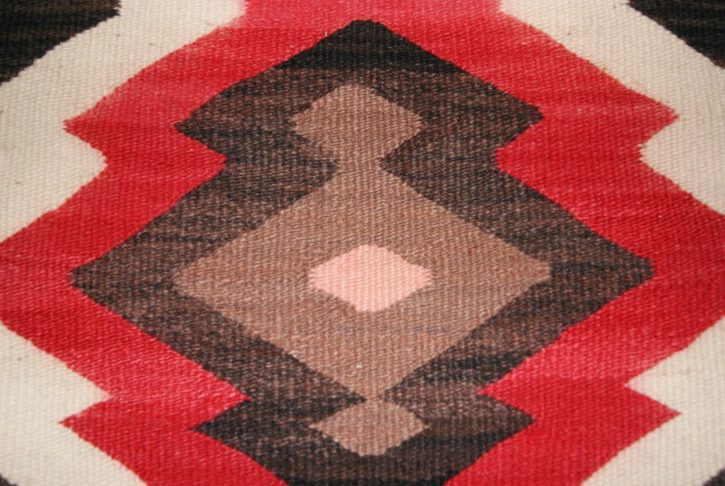 Navajo Rugs for Sale Company Antique JB Moore Crystal Variant of Plate III 1903 Navajo Rug Weaving Circa 1900 for Sale NRFSC0239 Image 004