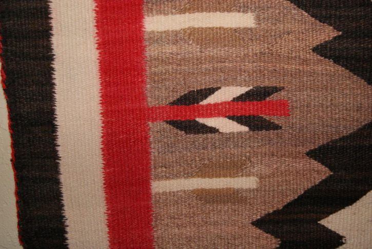 Navajo Rugs for Sale Company Antique JB Moore Crystal Variant of Plate III 1903 Navajo Rug Weaving Circa 1900 for Sale NRFSC0239 Image 005