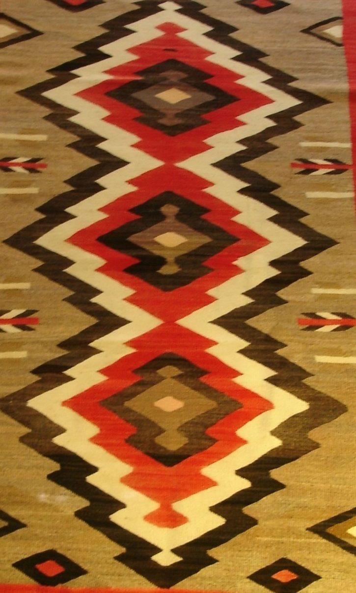 Navajo Rugs for Sale Company Antique JB Moore Crystal Variant of Plate III 1903 Navajo Rug Weaving Circa 1900 for Sale NRFSC0239 Image 006