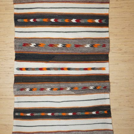 Navajo Rugs for Sale Company Antique Red Mesa Banded Double Saddle Blanket Navajo Rug Weaving Circa 1915 to 1925 for Sale NRFSC0805 Image 001