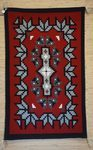 Navajo Rugs for Sale Company Modern Ganado Snowflake Pattern Navajo Rug Weaving Circa 1977 for Sale NRFSC0740 Image 001