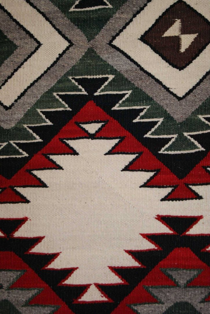 Navajo Rugs for Sale Company Modern Red Mesa Navajo Rug Weaving Circa 1950 for Sale NRFSC0763 Image 002