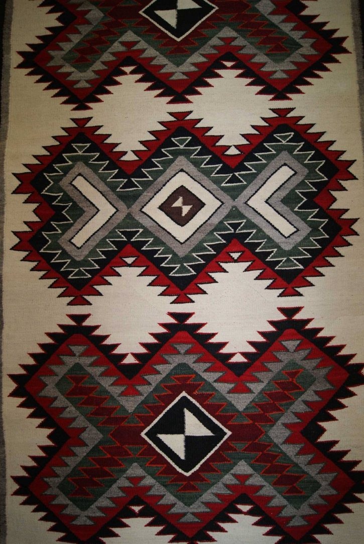 Navajo Rugs for Sale Company Modern Red Mesa Navajo Rug Weaving Circa 1950 for Sale NRFSC0763 Image 003