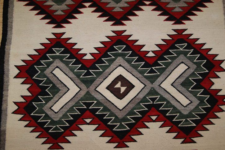 Navajo Rugs for Sale Company Modern Red Mesa Navajo Rug Weaving Circa 1950 for Sale NRFSC0763 Image 004