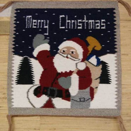Navajo Rugs for Sale Company Modern Santa Christmas Tree Navajo Rug Weaving Circa 2012 for Sale NRFSC0509 Image 001