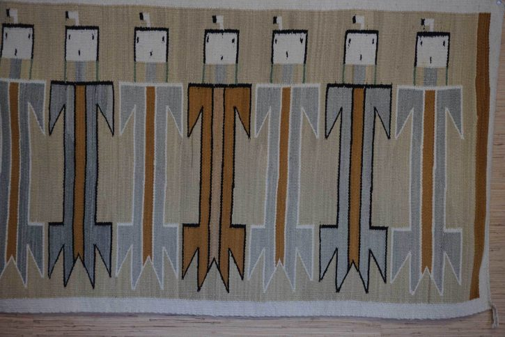 Navajo Rugs for Sale Company Modern Seven Female Yei Navajo Rug Weaving Circa 1950 for Sale NRFSC0778 Image 002