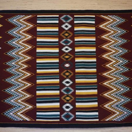 Navajo Rugs for Sale Company Modern Teec Nos Pos Navajo Rug Weaving Circa 1970 for Sale NRFSC0934 Image 001
