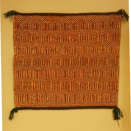 Navajo Rugs for Sale Company Modern Twill Single Saddle Blanket Navajo Rug Weaving Circa 1950 for Sale NRFSC0843 Image 001